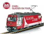 Art. Nr. 21428 - Glacier on Tour - verchromte Lok