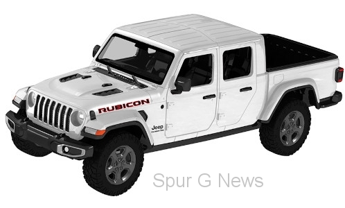 Jeep Gladiator Rubicon Hard Top, weiss, Maßstab 1:27, 2021
