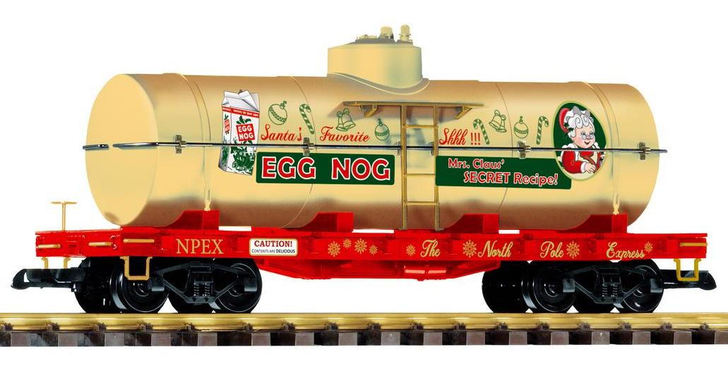 PIKO 2018 - Kesselwagen - Tankwagen , Art.N.r 38759, The North Pole Express, Egg Nog, Mrs. Claus´secret Recipe!