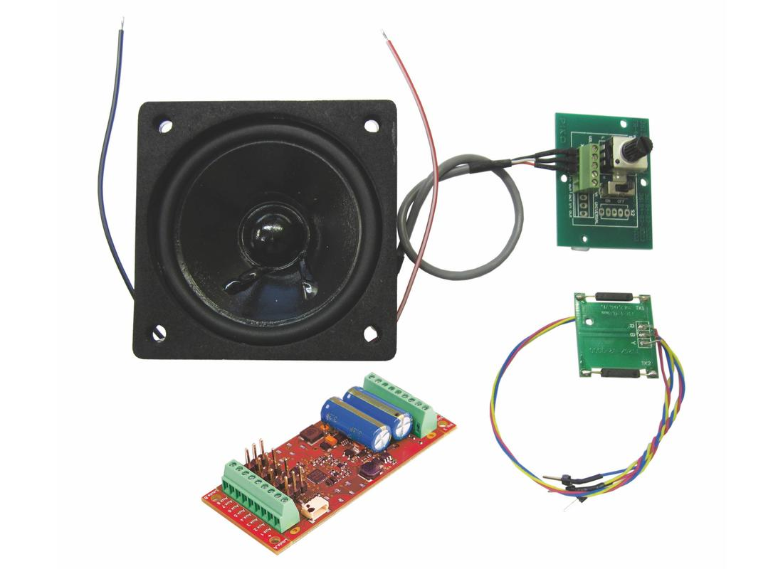 Art. Nr. 36231 - US-Mogul Smart Decoder 4.1 + Soundmodul  - Nachrüstbar mit PIKO SOUND-Modul und Decoder